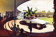 Syd Mead - Future Bugatti