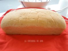 La Cocinika De Ana: Pan al microondas Microwave Recipes, Pan Bread, Micro Onde, Flan, Meat Recipes, Hot Dog Buns, Food And Drink, Tasty, Cooking