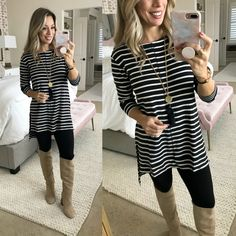 080e15829af 9 Best Tunics with leggings images   Fashion outfits, Casual outfits ...