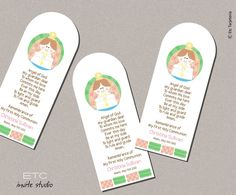 First Communion Remembrance Cards. $2.50, via Etsy.
