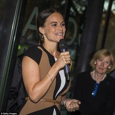 Princess Sofia of Sweden performed her second solo engagement last night as she attended the opening of an exhibition in Stockholm