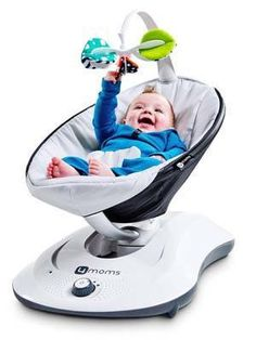 The 4moms rockaroo swing is a fresh design. It is a baby rocker swing because it is rock your little one with entertainment.