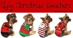 Ugly Christmas Sweater Party & Dogsmas December 23, 2016   #SouthBay #Events #WhatsHappeninginTheSouthBay