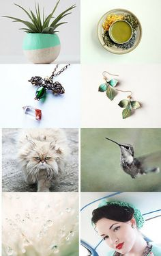 green by Kasia on Etsy--Pinned with TreasuryPin.com