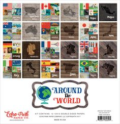 Echo Park > Around The World > Around The World Collection Kit - Echo Park: A Cherry On Top
