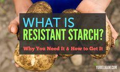 It's likely you've heard that starchy foods are something to avoid. As a general rule of thumb, this makes sense, because most starchy foods are packed with simple carbohydrates. They're highly processed, highly refined, and don't offer much fiber. You ma Resistant Starch Foods, Healthy Starch, Starch Solution, High Fiber Foods, Starchy Foods, Eat Smart, Foods To Avoid, Health And Beauty Tips, Ketogenic Recipes