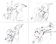 Kiss (Judy and Nick) by SatynaPaper on DeviantArt