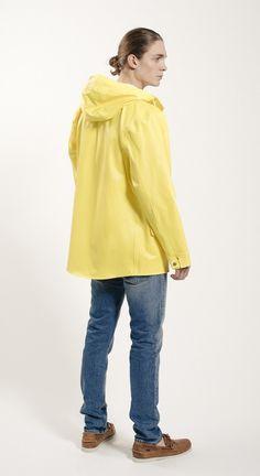Sandhamn Jacket 309 by Grundéns Originals Rain Wear, Spring Summer 2015, Normcore, The Originals, Yellow, Blouse, Jackets, Tops, Women