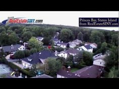 Princes Bay, Staten Island from above. | RealEstateSINY.com