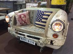 upcycled car furniture - Google Search