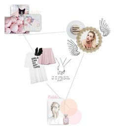 """""""When I was a child I stayed wide awake, climbed to the highest place, on every fire escape"""" by puckleberryslushy ❤ liked on Polyvore featuring art, slushieocs and princeatlas"""