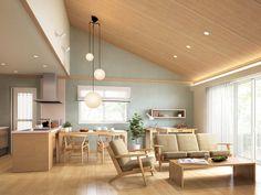 Sala Set, Interior Minimalista, Japanese Interior, New Home Builders, Minimalist Interior, Mid-century Modern, Living Room Decor, Sweet Home, New Homes