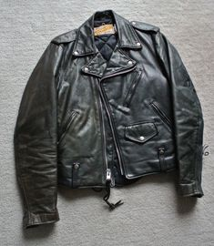 ⓀⒾⓃⒼⓈⓉⓊⒹⒾⓄⓌⓄⓇⓀⓈ▻ Schott Perfecto 115 // Perfect Vintage Motorcycle Leather //