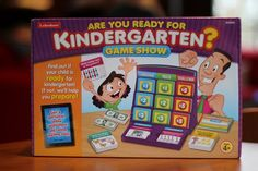 Are You Ready for Kindergarten Game for Pre-Schoolers