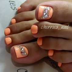 "748 Likes, 5 Comments - Педикюр / Идеи педикюра (@pedicure_nmr) on Instagram: ""Мастер @cherries_nail…"""