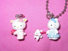 e4a9e63a3 Sanrio Hello Kitty My Melody Soft Mascot Floaty Foam Keychain Trinket Charm