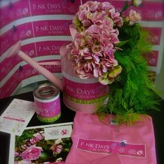 Pink Days In Bloom Tees