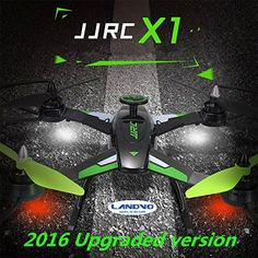 LANDVO® JJRC X1 Upgraded version 2.4G 4CH 6 Axis Gyro RC Quadcopter Helicopter Drone RTF with Brushless Motor, Green - http://www.midronepro.com/producto/landvo-jjrc-x1-upgraded-version-2-4g-4ch-6-axis-gyro-rc-quadcopter-helicopter-drone-rtf-with-brushless-motor-green/