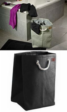 Jute Laundry Bag