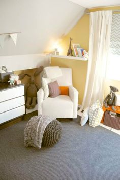 Adorable look. Baby W's Modern Classic Nursery My Room | Apartment Therapy