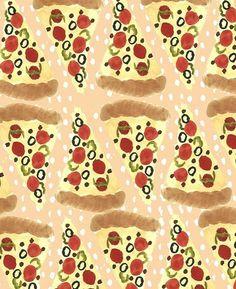 pizza #pattern #seamless