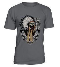 American indian skull  #videogame #shirt #tzl #gift #gamer #gaming