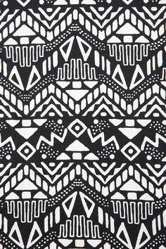 Black and white monochromatic tribal aztec pattern  | followpics.co