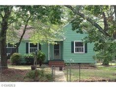 Cute #mint #green home in Henrico, VA