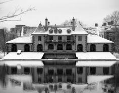 Weld Boat House at Harvard