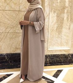 Modest Fashion Hijab, Modesty Fashion, Abaya Fashion, Muslim Fashion, Modest Outfits, Fashion Outfits, Mode Abaya, Mode Hijab, Hijab Fashion Inspiration