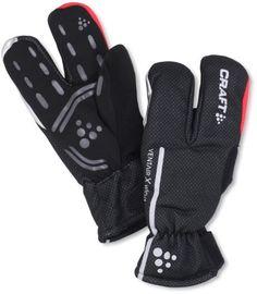 Craft Siberian Split Finger Wind and Waterproof Bike Glove - http://ridingjerseys.com/craft-siberian-split-finger-wind-and-waterproof-bike-glove/