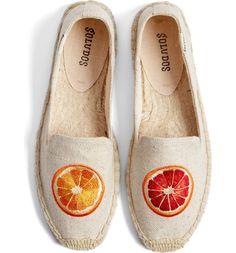 purchase cheap f8b70 cbd41 Soludos Oranges Embroidered Espadrille Slip-On (Women)  Nordstrom