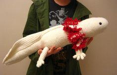Axolotl by KATZ's Amigurumi