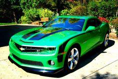 Official SYNERGY GREEN Camaro <3