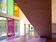 Collège A. Schweitzer à CRETEIL (94) colour / bleed / reflecting onto white
