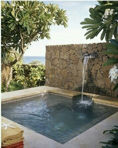 #tiny or #small space? No Problem. Let #GEREMIAPOOLS help you design and build the best #pool for your yard. www.geremiapools.com  #modernpool