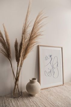 Living Room Decor, Bedroom Decor, Wall Decor, Wall Art, Grass Decor, New Room, Room Inspiration, Home Accessories, Minimalist Art