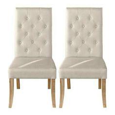 Cream upholstered chairs dunelm