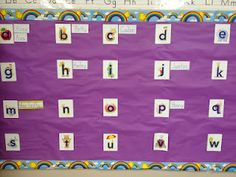 How to introduce the word wall with names Classroom Layout, Classroom Walls, School Classroom, Classroom Organization, Classroom Decor, Miss Kindergarten, Kindergarten Language Arts, Teaching Writing, Writing Resources