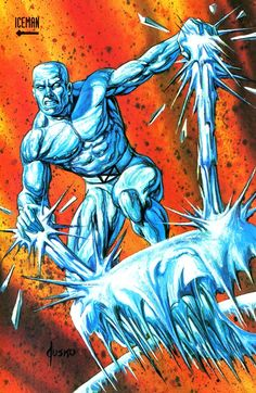 Iceman by Joe Jusko
