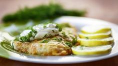 Headline One list, five meals: Jacket Potatoes with Bacon and Leeks Diabetic Recipes, Diet Recipes, Cooking Recipes, Salsa Verde, Parmesan Recipes, Tilapia, Stop Eating, Green Beans, Healthy Lifestyle