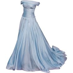 Satinee's collection - Red carpet dresses ❤ liked on Polyvore featuring dresses, gowns, long dresses, vestidos, blue evening gown, long blue dress, blue evening dress and red carpet gowns