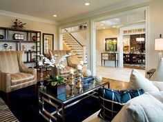 YUM!! South Shore Decorating Blog: What I Love Wednesday: Rooms With Flair
