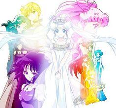 Sailor Princesses Princess Warriors