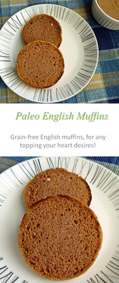 An awesome replacement for the commercial English muffins - made Paleo-friendly, gluten and dairy-free - for all your favorite toppings!