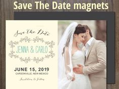 Keep your wedding planning simple & special with save the date magnets ! Save The Date Magnets, Free Design, Wedding Planning, Dating, How To Plan, Simple, Birthday, Quotes, Birthdays