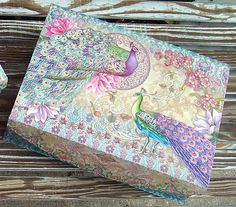 pUNCH sTUDIO Lavender Floral Peacock Choice of Keepsake Decorative Nesting Boxes | eBay