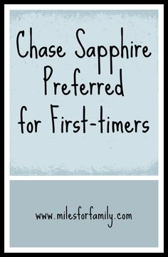 Chase Sapphire Preferred: Solid Choice for First-Timers to Maximize Free Travel - Miles For Family Free Travel, Cheap Travel, Best Travel Credit Cards, Credit Card Points, Free Hotel, Travel Rewards, Budgeting Money, Travel Bugs, Travelers Notebook
