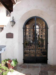 Spanish Colonial Treasure - San Diego - mediterranean - entry - san diego - Terrell Design & Development