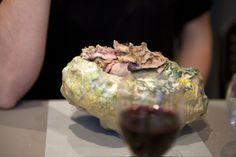 Philippe GODDERIDGE / viande et terre cuite émaillée